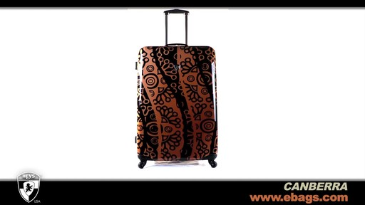 Heys USA Canberra 3 Piece Hardside Spinner Luggage Set  - image 9 from the video