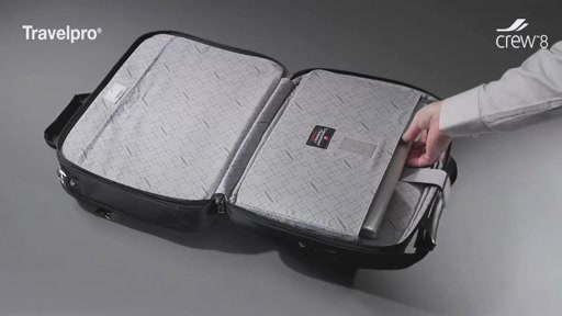 Travelpro Crew 8 Luggage - image 5 from the video