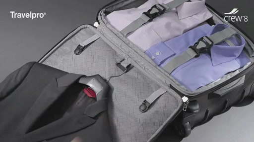 travelpro crew 8 luggage image 9 from the video - Travel Pro Luggage