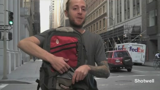 Timbuk2 Shotwell Laptop Backpack - image 3 from the video