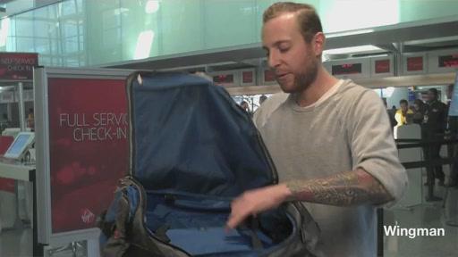 Timbuk2 Wingman Travel Duffel  - image 10 from the video