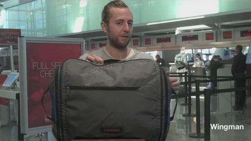 Timbuk2 Wingman Travel Duffel  - image 5 from the video
