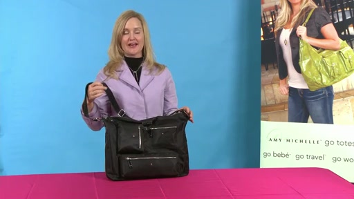 Amy Michelle Iris Work Bag - image 1 from the video