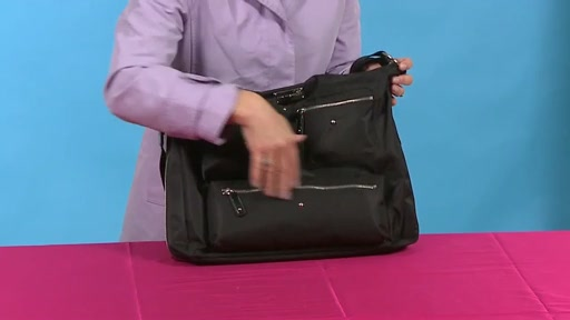 Amy Michelle Iris Work Bag - image 2 from the video