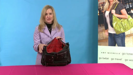 Amy Michelle Iris Work Bag - image 5 from the video