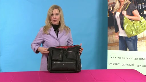 Amy Michelle Iris Work Bag - image 7 from the video