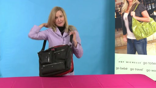 Amy Michelle Iris Work Bag - image 9 from the video