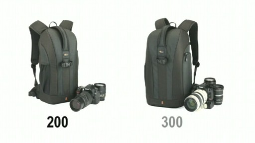Lowepro Flipside Demonstration - image 2 from the video