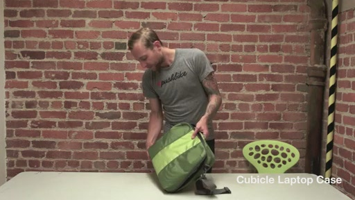 Timbuk2 Cubicle Laptop Bag - image 10 from the video