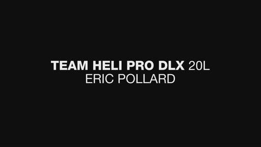DAKINE Team Heli Pro DLX 20L - Eric Pollard - image 3 from the video