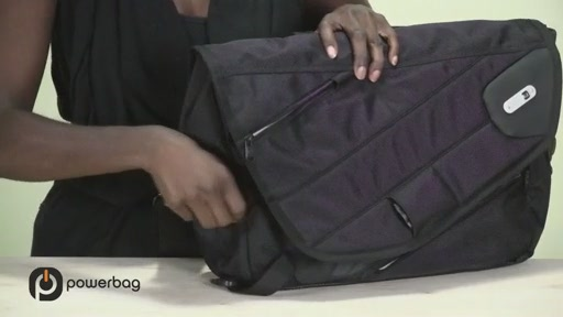 Powerbag by ful 3000 mAH Laptop Messenger Bag - image 10 from the video