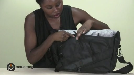 Powerbag by ful 3000 mAH Laptop Messenger Bag - image 3 from the video