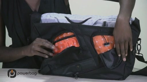 Powerbag by ful 3000 mAH Laptop Messenger Bag - image 4 from the video