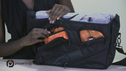 Powerbag by ful 3000 mAH Laptop Messenger Bag - image 5 from the video