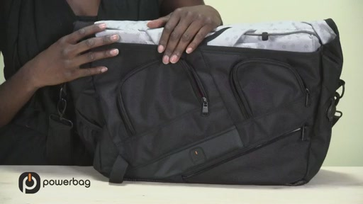Powerbag by ful 3000 mAH Laptop Messenger Bag - image 7 from the video
