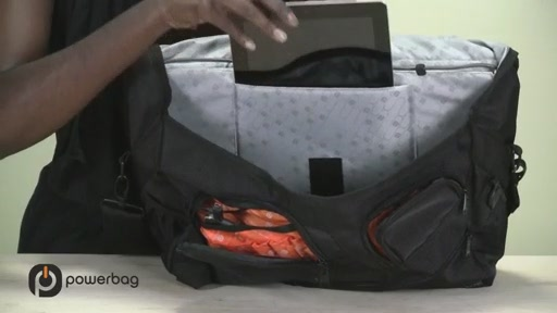 Powerbag by ful 3000 mAH Laptop Messenger Bag - image 9 from the video