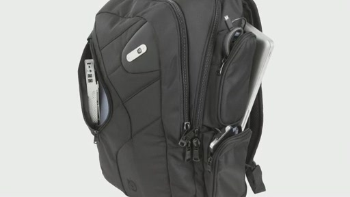 Powerbag by ful 6000 mAH Deluxe Laptop Backpack - image 1 from the video