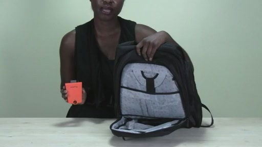 Powerbag by ful 6000 mAH Deluxe Laptop Backpack - image 2 from the video