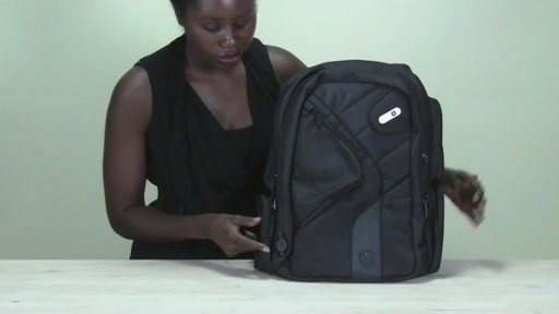 Powerbag by ful 6000 mAH Deluxe Laptop Backpack - image 6 from the video
