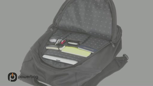 Powerbag by ful 3000 mAH Laptop Backpack - image 2 from the video