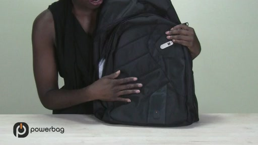 Powerbag by ful 3000 mAH Laptop Backpack - image 3 from the video