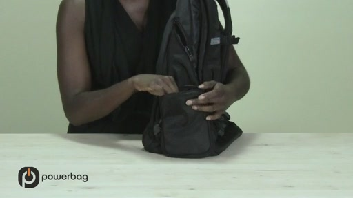Powerbag by ful 3000 mAH Laptop Backpack - image 5 from the video