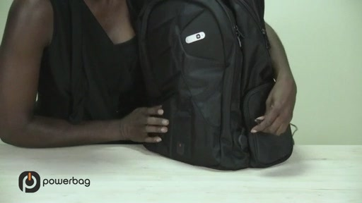 Powerbag by ful 3000 mAH Laptop Backpack - image 6 from the video