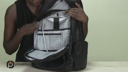 Powerbag by ful 3000 mAH Laptop Backpack - image 8 from the video