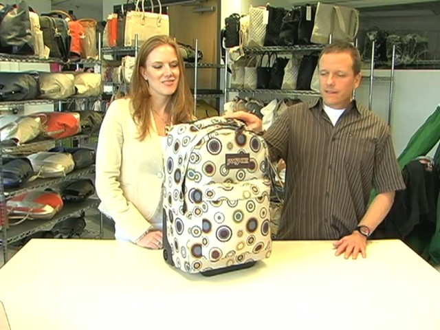 JanSport Wheeled SuperBreak - image 2 from the video