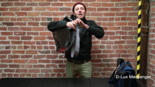 Timbuk2 D-Lux Laptop Messenger - image 3 from the video
