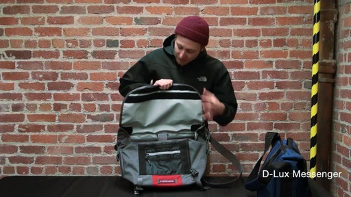 Timbuk2 D-Lux Laptop Messenger - image 4 from the video