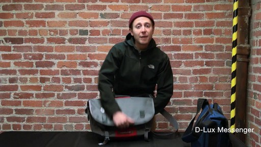Timbuk2 D-Lux Laptop Messenger - image 5 from the video
