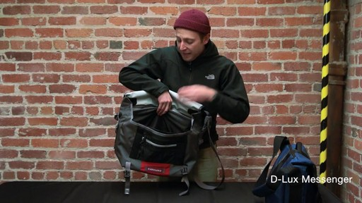 Timbuk2 D-Lux Laptop Messenger - image 8 from the video