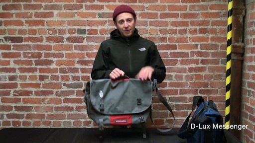 Timbuk2 D-Lux Laptop Messenger - image 9 from the video