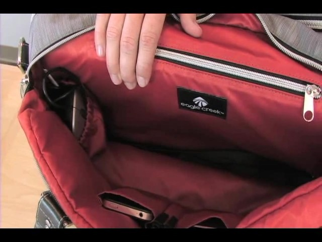 emerson shoulder bag - image 5 from the video