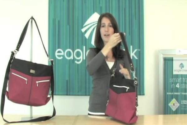 Eagle Creek Kensley Shoulder Bag Rundown - image 6 from the video