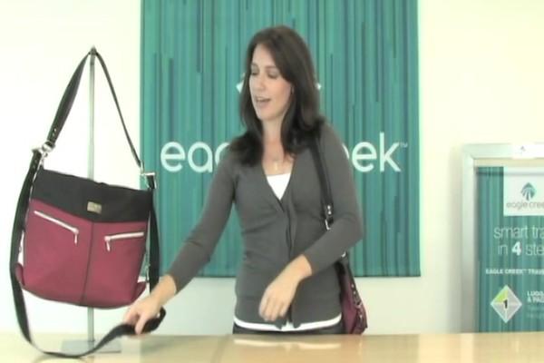 Eagle Creek Kensley Shoulder Bag Rundown - image 7 from the video