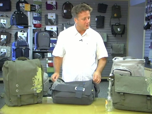 Case Logic Campus Canvas Bags - image 9 from the video
