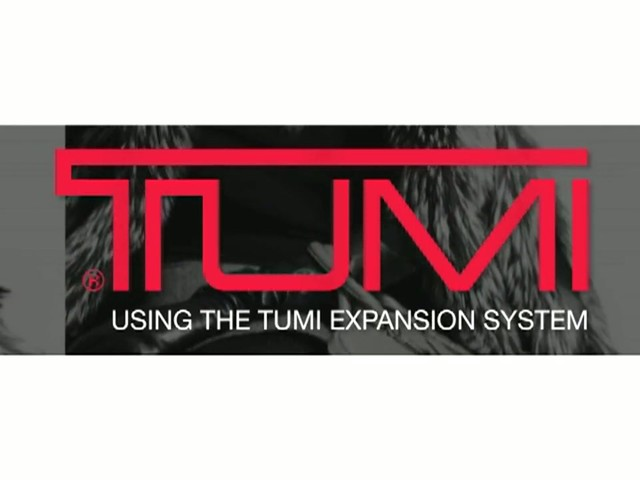 TUMI - How to Use Push-Button Expansion - image 1 from the video