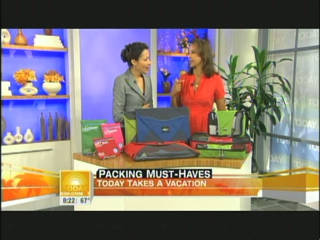 eBags packing cubes on NBC's Today Show - image 10 from the video