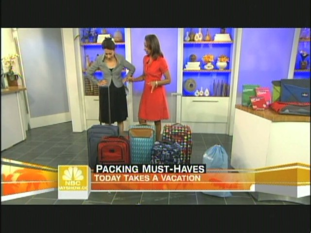 eBags packing cubes on NBC's Today Show - image 2 from the video