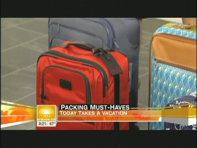 eBags packing cubes on NBC's Today Show - image 3 from the video