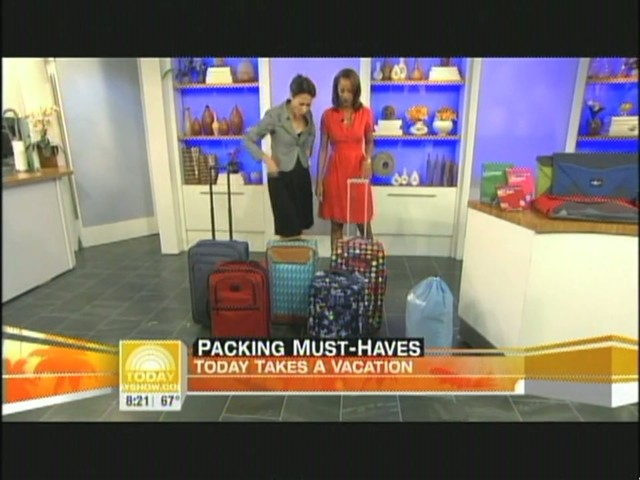eBags packing cubes on NBC's Today Show - image 4 from the video