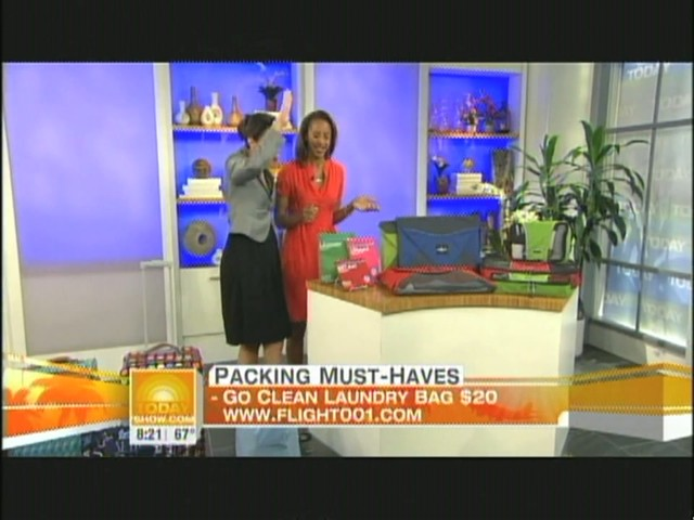 eBags packing cubes on NBC's Today Show - image 6 from the video