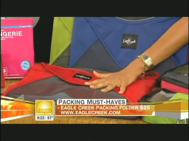 eBags packing cubes on NBC's Today Show - image 7 from the video