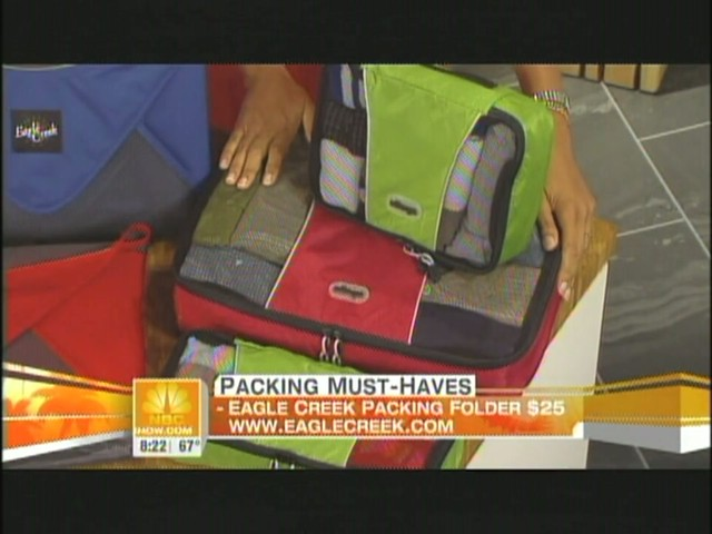 eBags packing cubes on NBC's Today Show - image 8 from the video