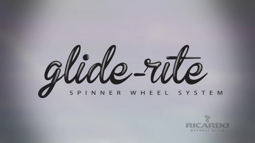 Ricardo Beverly Hills Glide Rite Overview - image 2 from the video