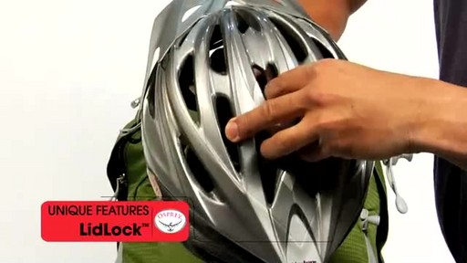 Osprey LidLock Helmet Attachment - image 4 from the video