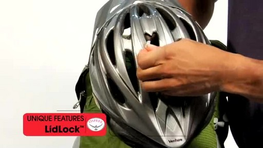 Osprey LidLock Helmet Attachment - image 5 from the video