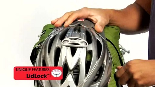 Osprey LidLock Helmet Attachment - image 7 from the video